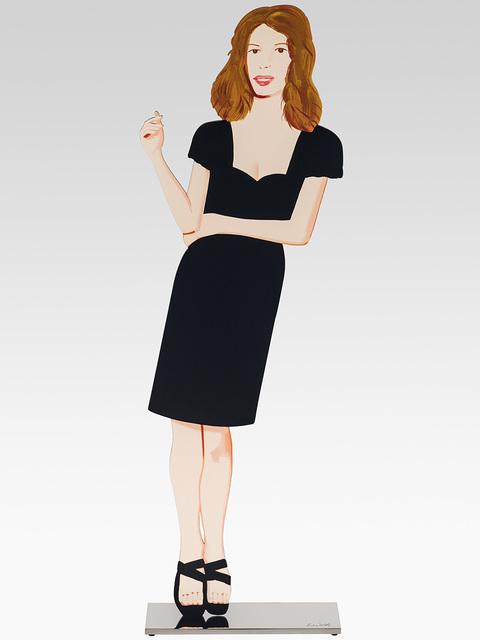 Alex Katz, 'Black dress 2 (Cecily)', 2018, Opera Gallery