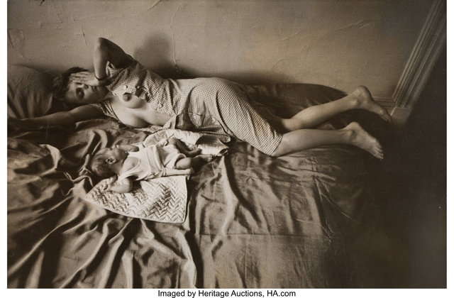 Elliott Erwitt, 'Lucienne and Ellen Erwitt, New York City', 1953, Photography, Gelatin silver, Heritage Auctions