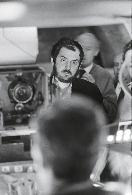 , '2001: A Space Odyssey, directed by Stanley Kubrick (1965-68; GB/United States). Stanley Kubrick during the filming.,' 1965-1968, Kunstforeningen GL STRAND
