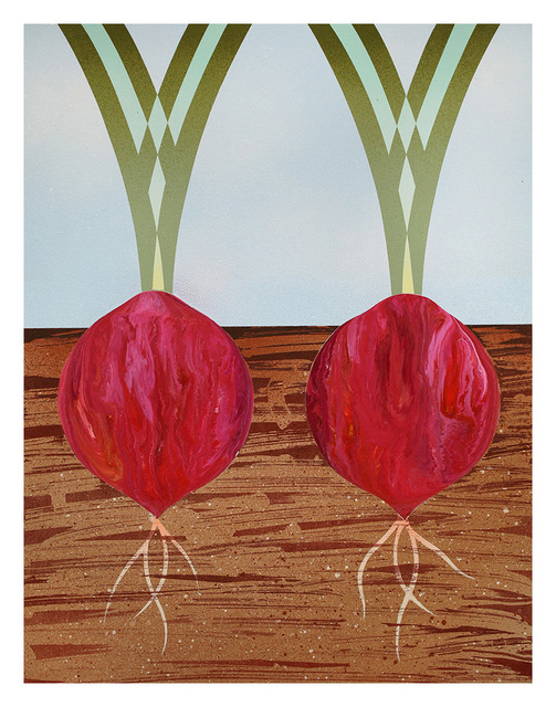 , 'Two Red Onions,' 2016, Hashimoto Contemporary