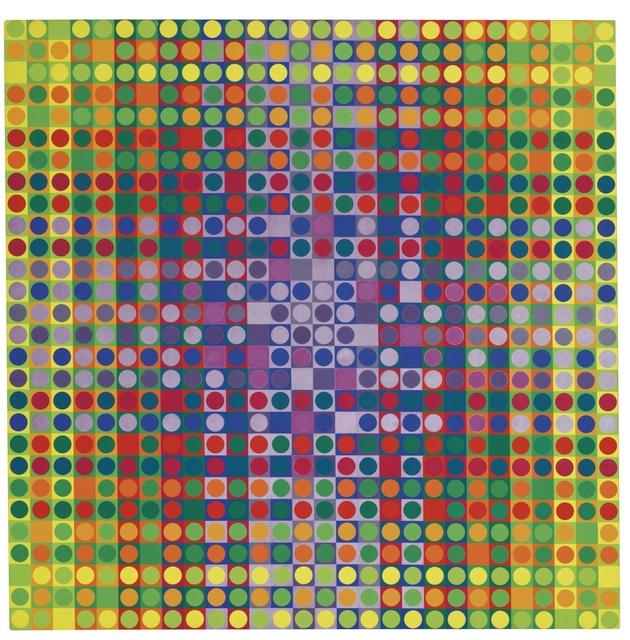 Julio Le Parc, 'Sin título - Serie 26D, N° 1-3 3-1, 3-1 1-3', 1979, Museo de Arte Contemporáneo de Buenos Aires