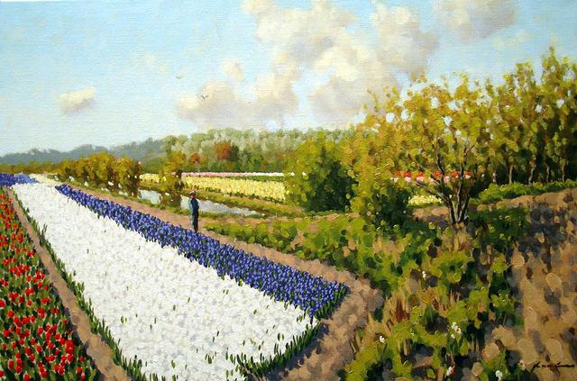 , 'Bulb fields Hillegom,' ca. 2016, ArtBoutique