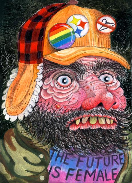 , 'Progressive Feminist Mountain Man (Dream Neighbor),' 2016, Asya Geisberg Gallery