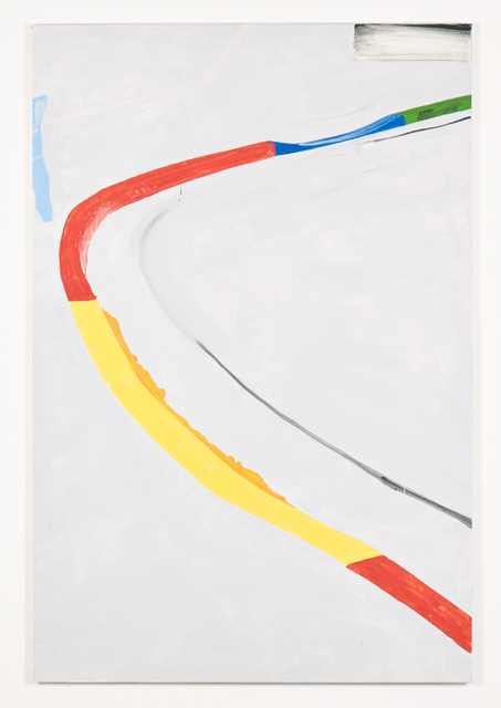 , 'The Del - Green, Blue, Red, Yellow, Red,' 2014, Galerie Greta Meert