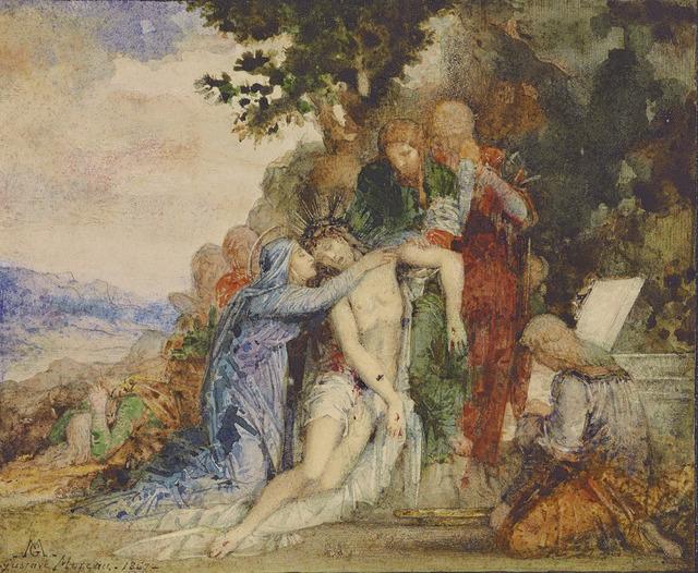 , 'La Mise au Tombeau (The Entombment),' 1867, Mireille Mosler Ltd.