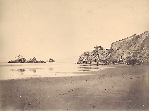, 'Cliff House from the Beach, San Francisco,' 1869, Scott Nichols Gallery