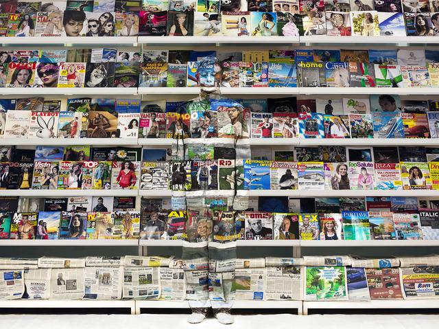 , 'Italy - Magazine Rack,' 2012, Galería RGR