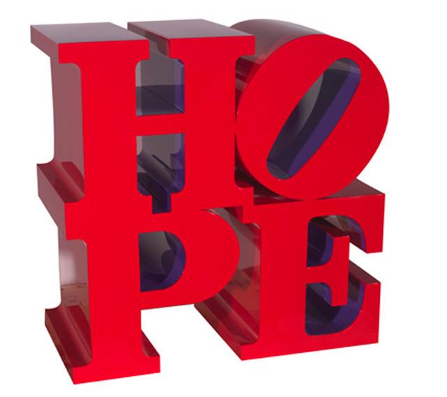 , 'Hope (Red/Violet),' 2008, Galerie de Bellefeuille