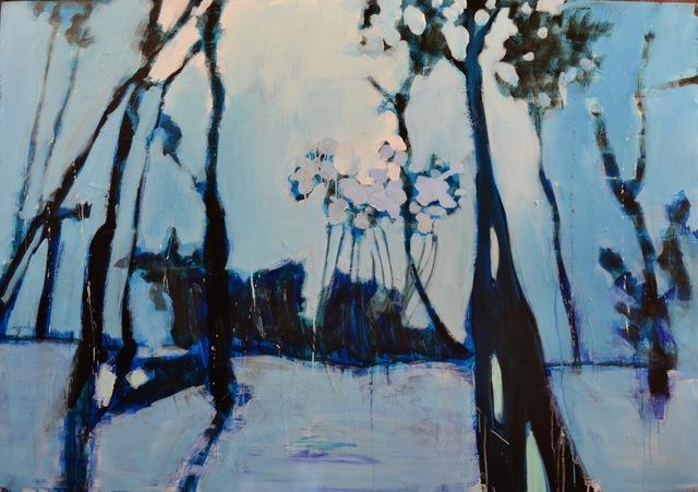 , 'In The Blue,' 2017, Adelman Fine Art