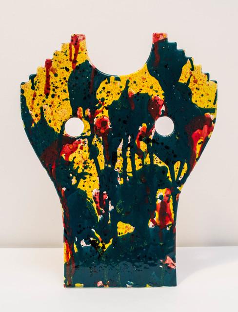 , 'Bust Mask Jade,' 2016, Instituto de Visión