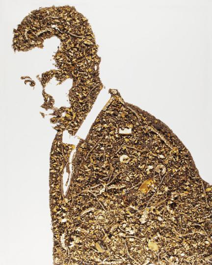 Vik Muniz, 'Golden Boy', 2005, IFAC Arts