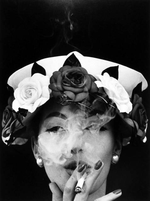 William Klein, 'Hat and Five Roses, Paris, Vogue', 1956, IFAC Arts