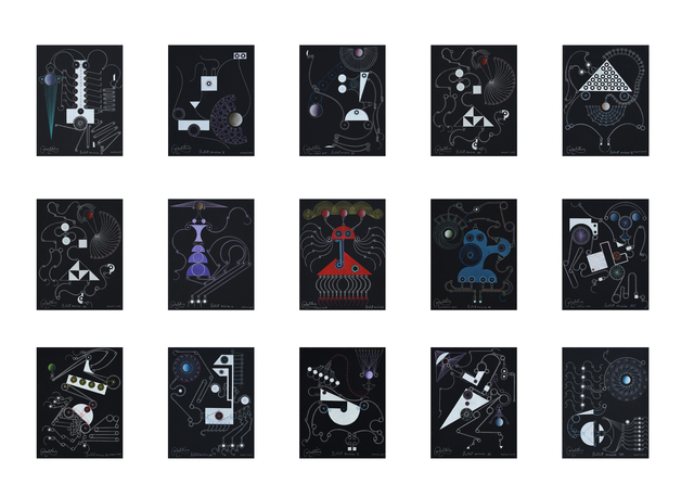 Carlos Estévez, 'Complete set of Ballet onírico [Dream Ballet]', 2017, LaCa Projects