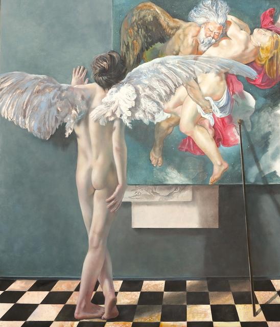 , 'Rubens's Atelier Painting: Angel,' 2016, Joerg Heitsch Gallery