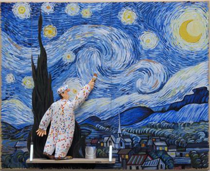 , 'Starry Night (van Gogh),' 2015, Zenith Gallery