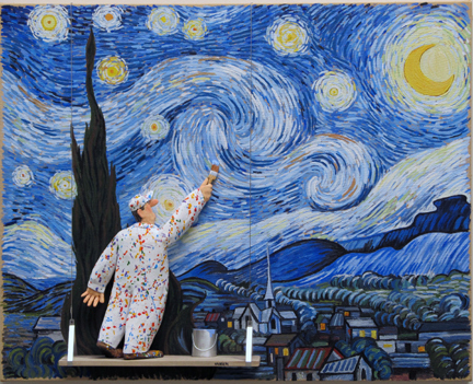 Stephen Hansen, 'Starry Night (van Gogh)', 2015, Zenith Gallery