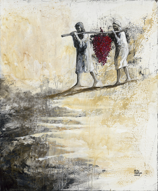 , 'The Spies - Land of Milk and Honey,' 2017, Artrue Gallery