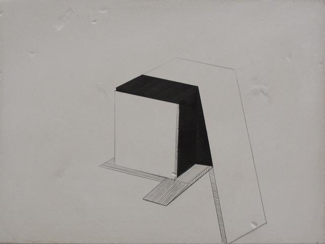 , 'Abstracted Building ,' 2014, CYDONIA