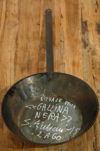 Sandro Giuliani, 'II Rituale della Gallina Nera (Ritual of the Black Hen)', ARTSPACE 8