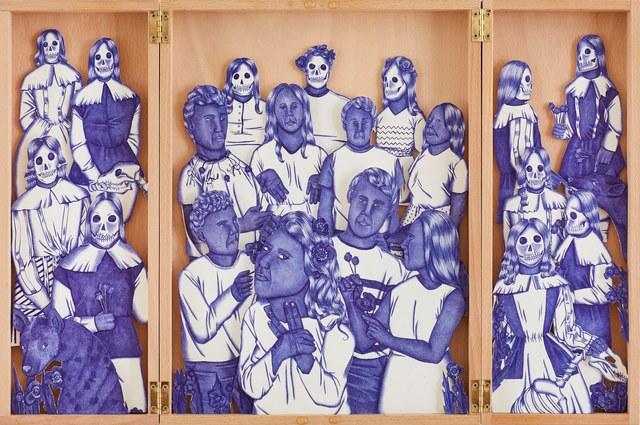 , 'Delusional Hyenas,' 2018, Galerie Ernst Hilger