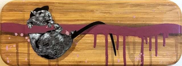 , 'Rat Hanging (Pink),' 2018, NextStreet Gallery