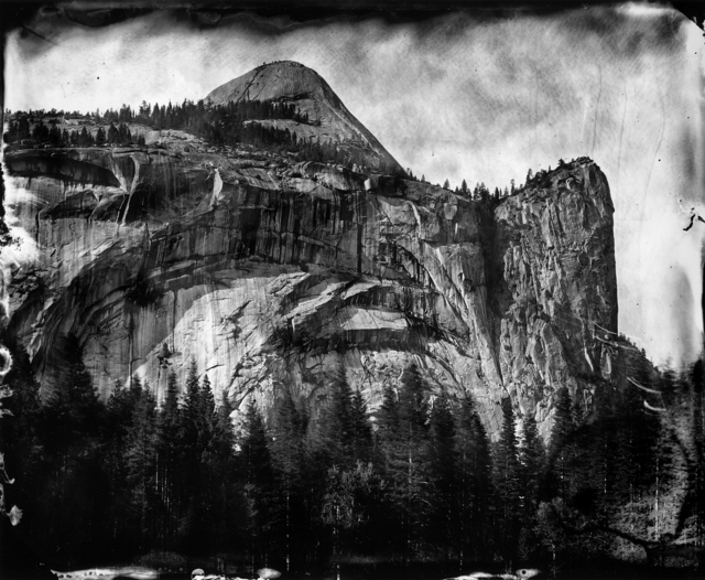 , 'Yosemite, Homage to Carleton (North Dome, Royal Arches),' 2009-printed 2011, Scott Nichols Gallery