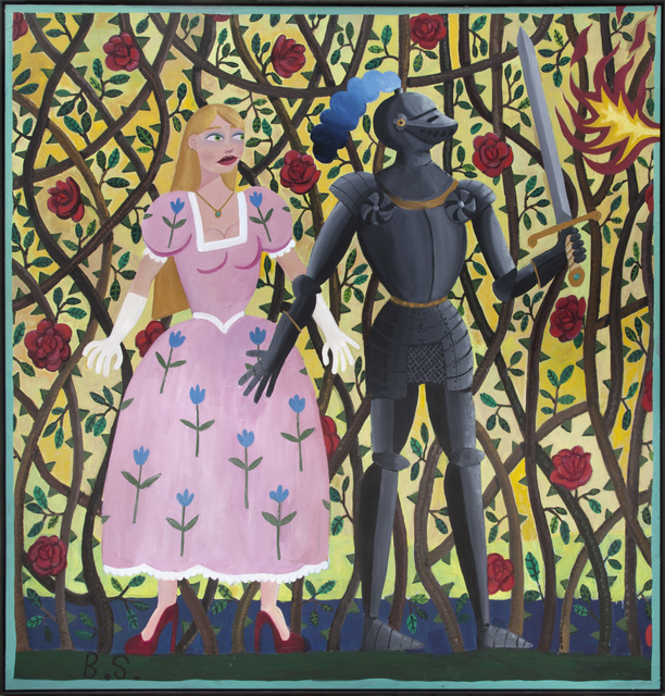 , 'Princess and the Knight,' 2017, NINO MIER GALLERY