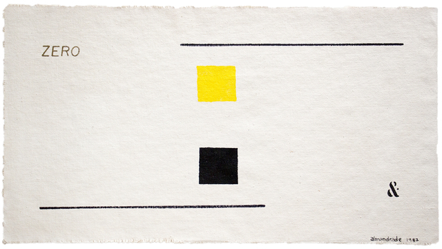 , 'Visual Poem,' 1987, Galeria Karla Osorio