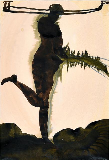 Cornelia Schleime, 'Pissing woman', 1996, Millon Belgium