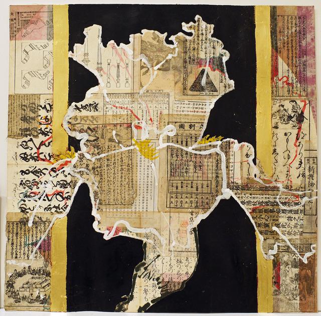 , 'Heraldic Iris,' 2012, DC Moore Gallery
