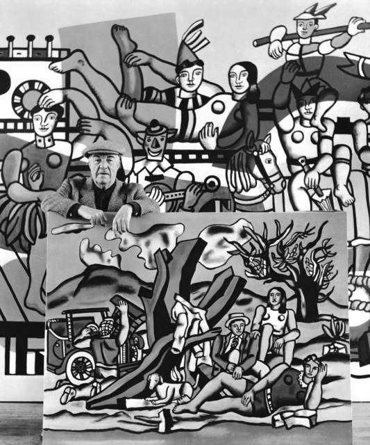 , 'Fernand Léger dans ses Oeuvres,' 1954, Staley-Wise Gallery