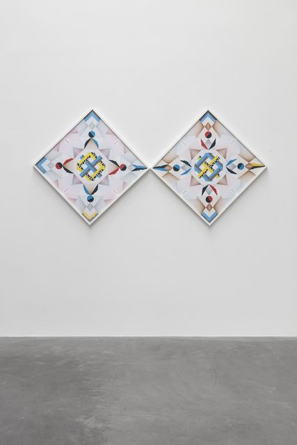 , 'Kaleidoscopic Weaving Hand in Hand – Trustworthy #285,' 2016, kurimanzutto