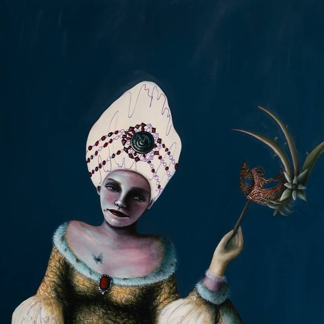 , 'Dropping The Mask,' 2019, GALLERI RAMFJORD