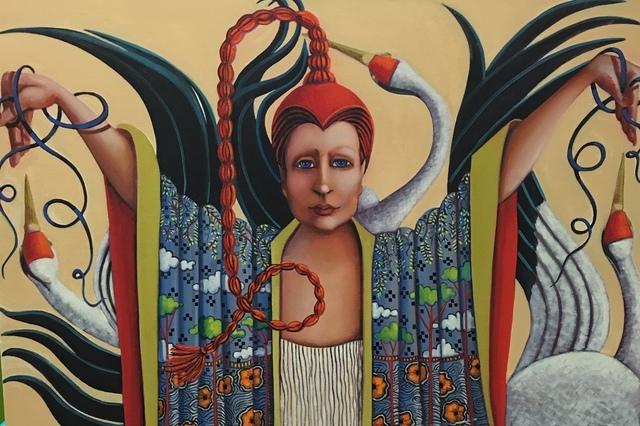 Judy Thompson, 'Dance With Cranes', 2018, J. Cacciola Gallery