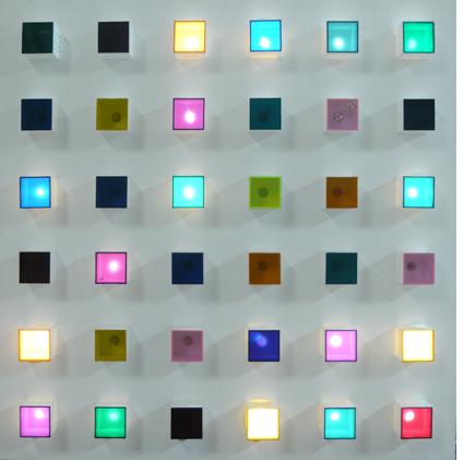 Gregorio Vardánega, 'Polychromie électronique I', 1965-1970, Galerie Denise René