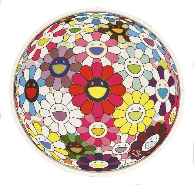 Takashi Murakami, 'Flowerball: Open Your Hands Wide', 2015, Sworders