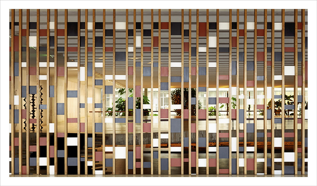 , 'Brasilia | The Itamaraty Palace - Foreign Relations Ministry, wood and steel panel by Athos Bulcão,' 2012, The Ravestijn Gallery