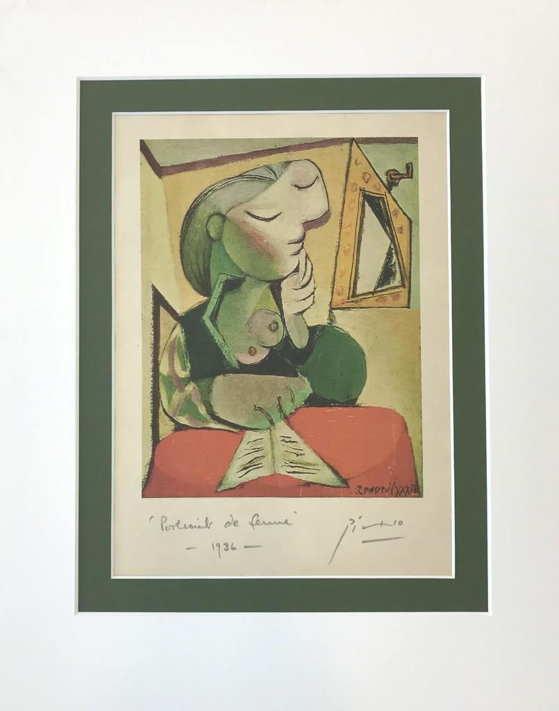 Pablo Picasso | Portrait de Femme (1936) | Artsy