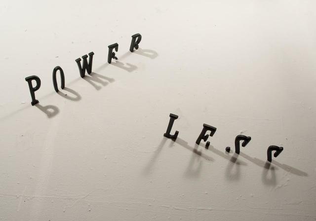 , 'Power Less,' 2012, Galería del Paseo