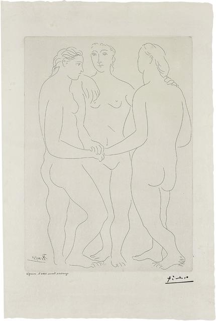 Pablo Picasso, 'Les Trois amies (The Three Friends)', 1927, Phillips