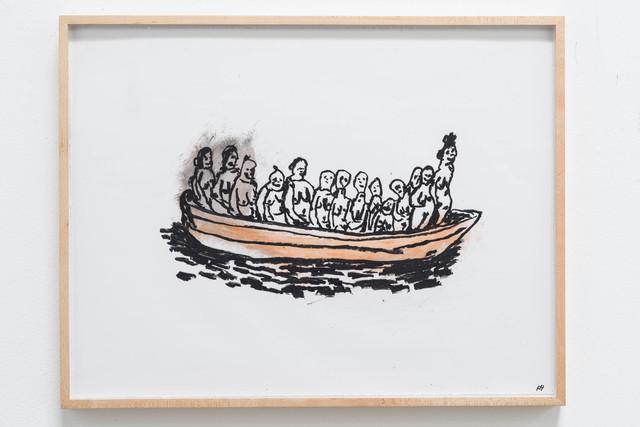 , 'Woman Boat,' 2014, Rosamund Felsen Gallery