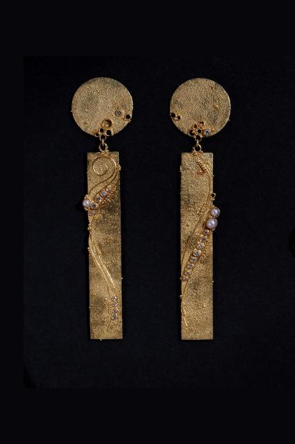 , 'Earrings #704,' 1986, Mobilia Gallery
