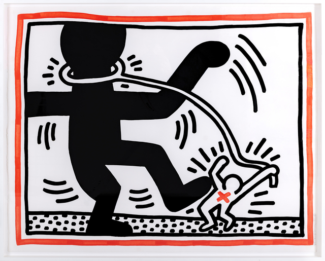 Keith Haring, 'Untitled 2 (Free South Africa)', 1985, Print, Lithograph, paper, Artificial Gallery