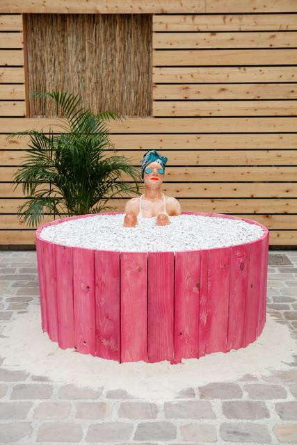 , 'Bath (1),' 2019, Antonine Catzéflis