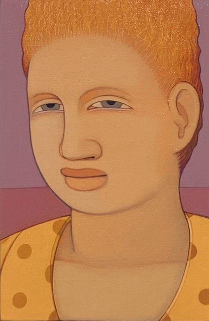 Andrew Stevovich, 'Portrait: Yellow Dress', 1991, Adelson Cavalier Galleries