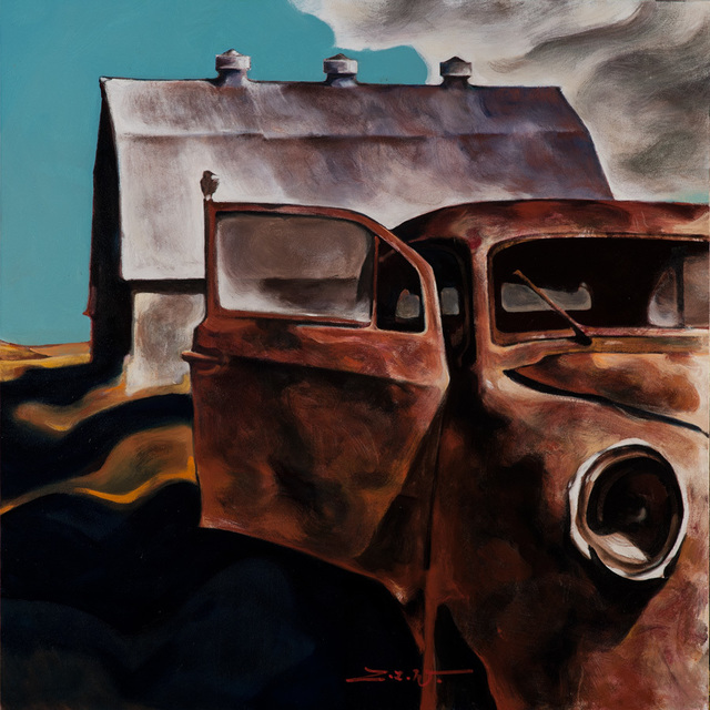 , 'Rusted Ride,' 2018, Patricia Rovzar Gallery