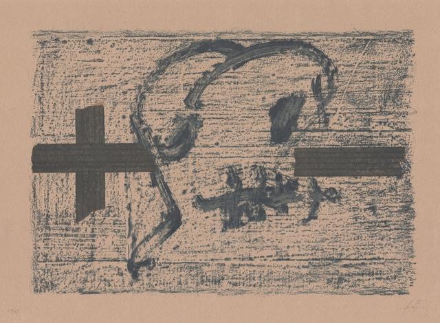 Antoni Tàpies, 'Llambrec material VII', 1970-1980, ARTEDIO