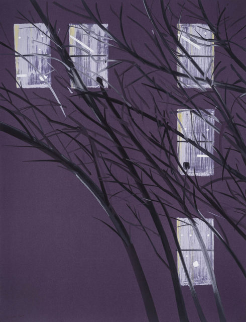 Alex Katz, 'Purple Wind', 2016, Korff Stiftung GmbH