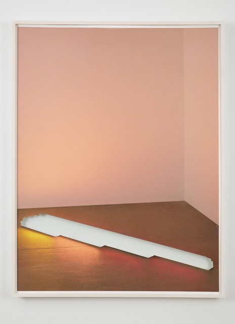 , 'Untitled (Gold, Pink and Red, Red),' 2015, Sean Kelly Gallery