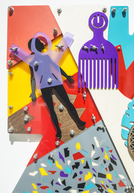 Damien Davis, 'Force of Will (Blackamoors Collage # 228)', 2019, LatchKey Gallery